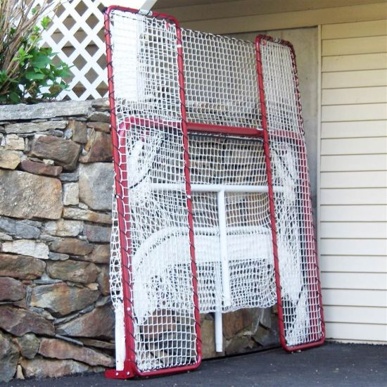 Hockey Folding Goal with Backstop and Targets pictures & photos