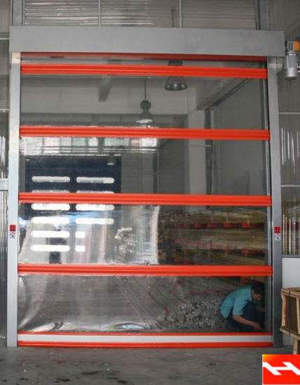 Automatic Fast Speed Rolling Door with Security Systems pictures & photos