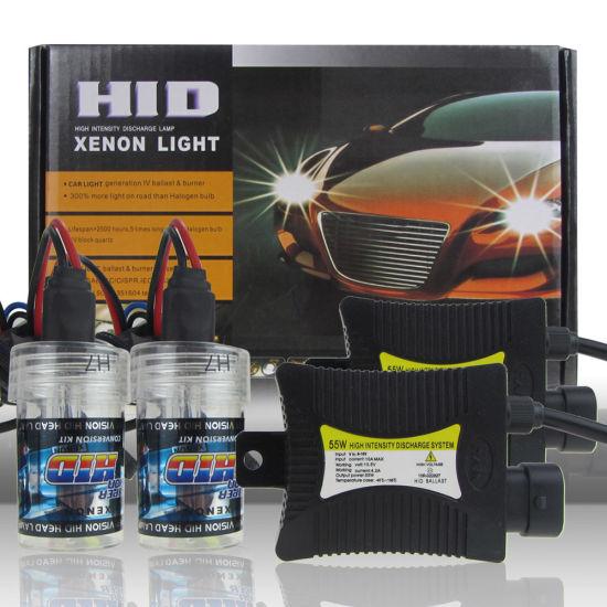 55W HID Xenon Headlight Conversion KIT H1//H3//H4//H7//H11//9005//9006//880//881//9004//7