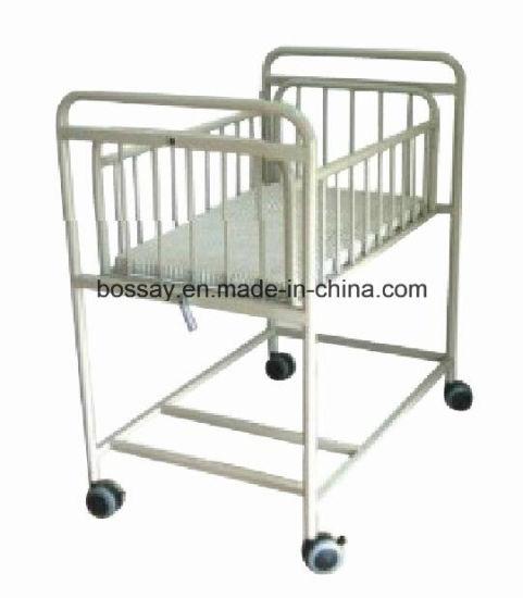 (BS-813) High Hurdle Steel Spray Baby Bed