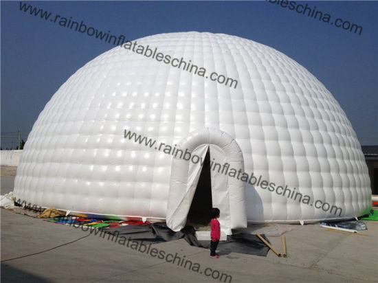 Blow up White Square Giant Wedding Inflatable Igloo Tent & China Blow up White Square Giant Wedding Inflatable Igloo Tent ...