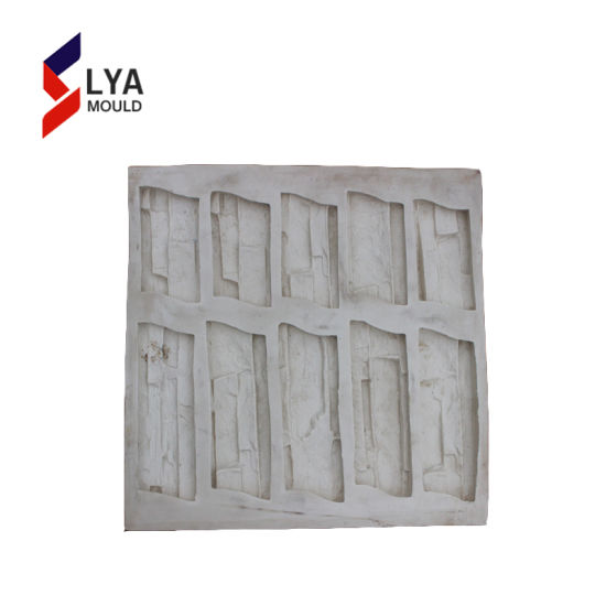 Low Operation Cost Silicone Cyst Natural Stone Veneer Panel Molds