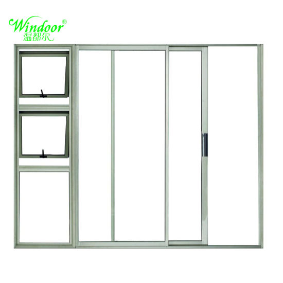 Impact Thermal Sliding Door With Double Glazed Sash