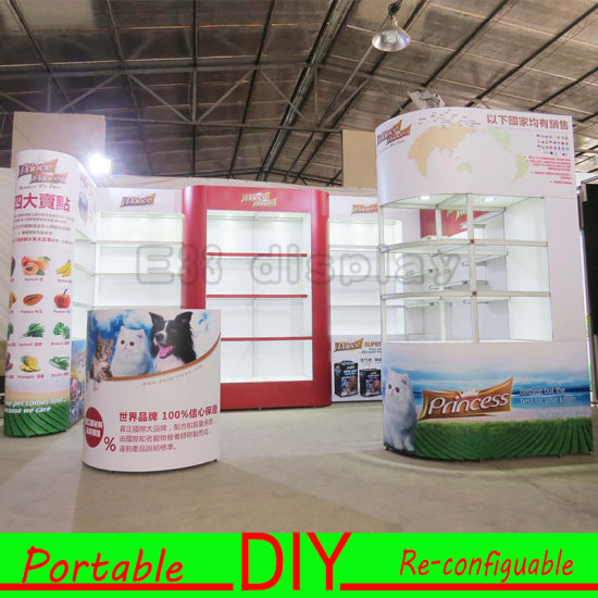 DIY! Modular Display Stand Installation, Trade Show Exhibition Booth pictures & photos