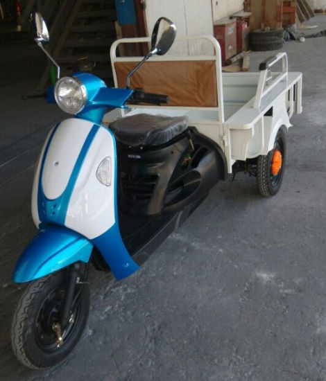 Electric Tricycle for Cargo Rickshaw pictures & photos