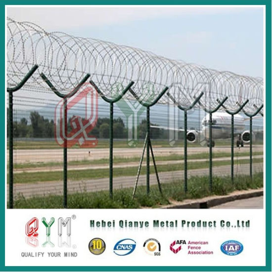 China Razor Wire Border Safety Fence Panel/ Airport Fence Panel ...