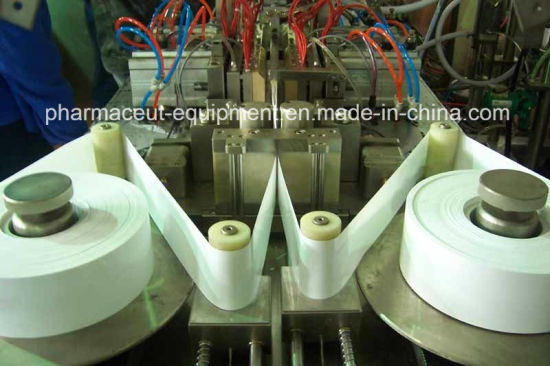 Zs-U Full-Automatic Piston Pump PLC Control Suppository Liquid Forming Filling Sealing Machine pictures & photos