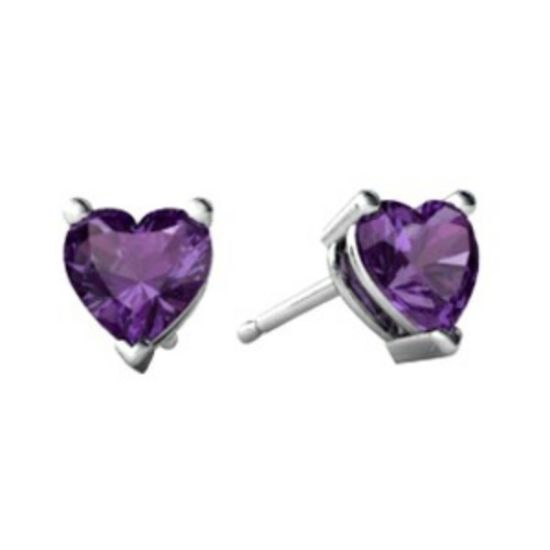Purple Earring 316L Stainless Steel Jewelry Handmade Jewelry pictures & photos