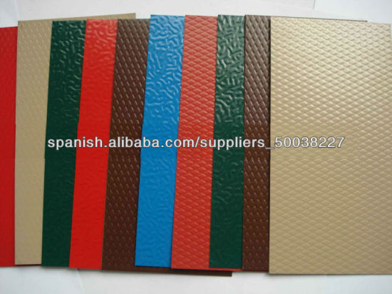 Corrugated Aluminium/Aluminum Roofing (flat, stucco emboss, color coated) pictures & photos
