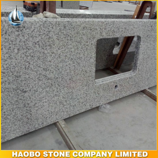 Cheap G655 Light Grey Granite Kitchen Countertop pictures & photos