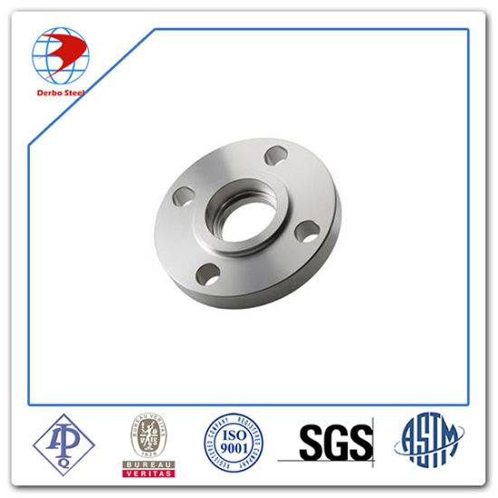 China Stainless Steel ASTM A182 F317L Sw Flange RF 300 Lb 4 Inch Sch