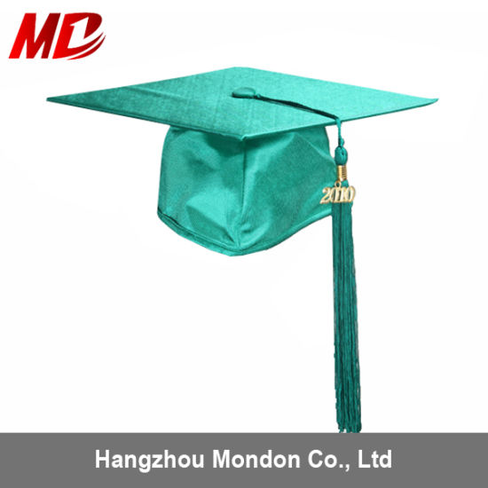 China Wholesale New Style Pictures of Graduation Hats Shiny