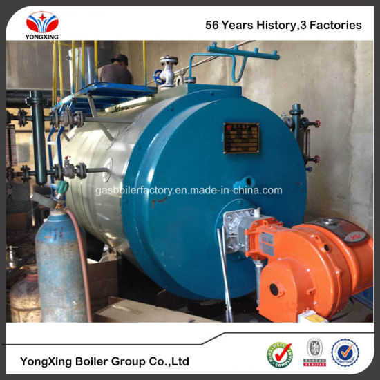 China Wns Oil / Gas Fired Steam Boiler, Baltur Burner, A Grade ...