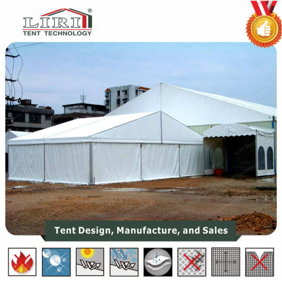 40m Large Aluminium Warehouse Marquee Tent for Big Storage pictures & photos