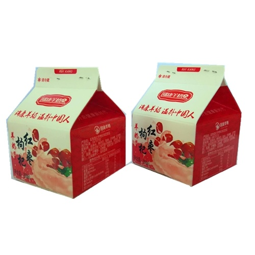250ml 3 Layer Gable Top Carton for Fresh Milk pictures & photos