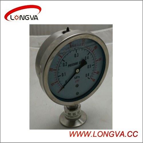 Sanitary Stainless Steel Diaphragm Type Pressure Gauge