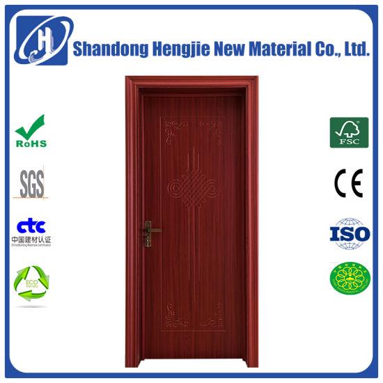 China Beautiful And High Quality Wpc Door Composite Door Interior