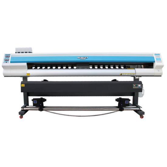 Factory Wholesale 1 6m 1 8m 3 2m Epson Dx5 5113 Heads Vinyl Sticker Eco  Solvent Printer in China Cmyk Eco Solvent Printer Dx7