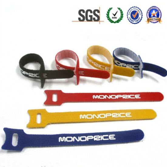 China Customized Hook Loop Tie Strap Fastener for Cable Wire ...