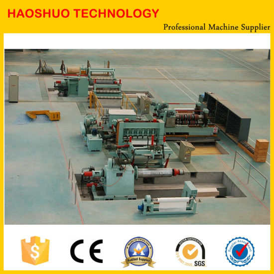 Metal Steel Slitting Machine, Slitting Line, Metal Sheet Cutting Machine pictures & photos