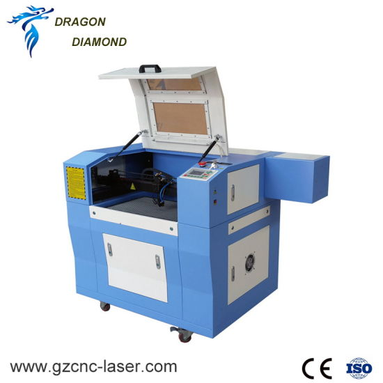 Non Metal Small 6040 Desktop Honeycomb Table CO2 Laser Cutter With Rotary