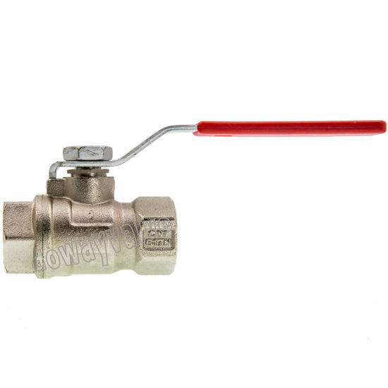 Wholesale PN30 Light Design Steel Lever Handle Female Ball Valve (DW260) pictures & photos