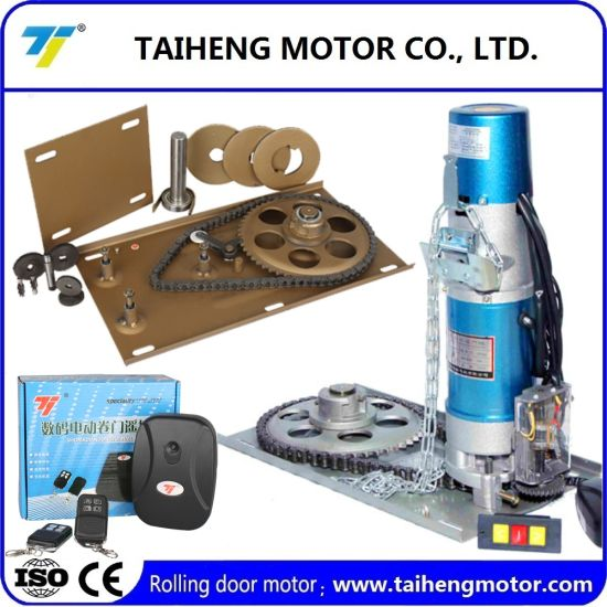 100% Copper Wire Shutter Roll Door Motor with High Quality