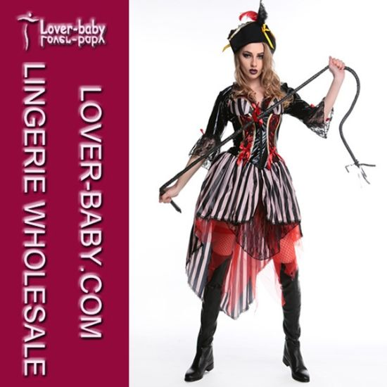 Halloween Costume Girls Pirate Costume (L15350) pictures & photos