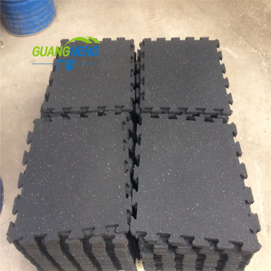 Interlocking Recycled Gym Equipment Gymnasium Flooring pictures & photos