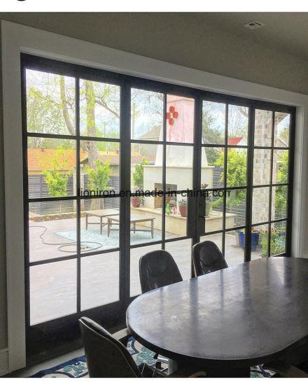 China Steel Bi Fold Door Metal Modern Door For House China Thermal