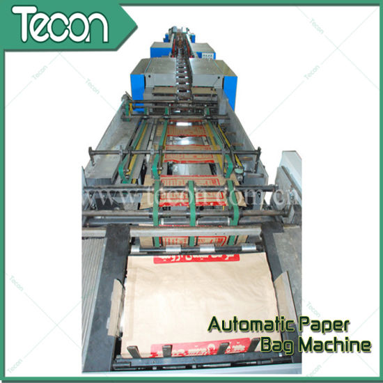 Automatic Paper Bag Production Line pictures & photos