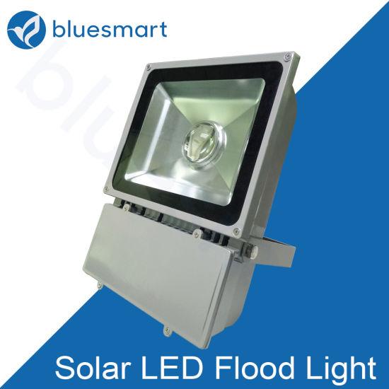 30W Solar LED Floodlight Flood Lamp with Lithium Battery