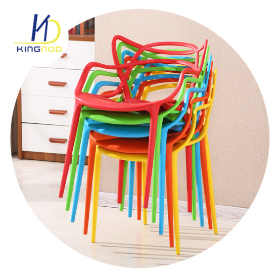 Wholesale Replica Master Armchair Stacking PP Plastic Catering Design Dining Chair pictures & photos