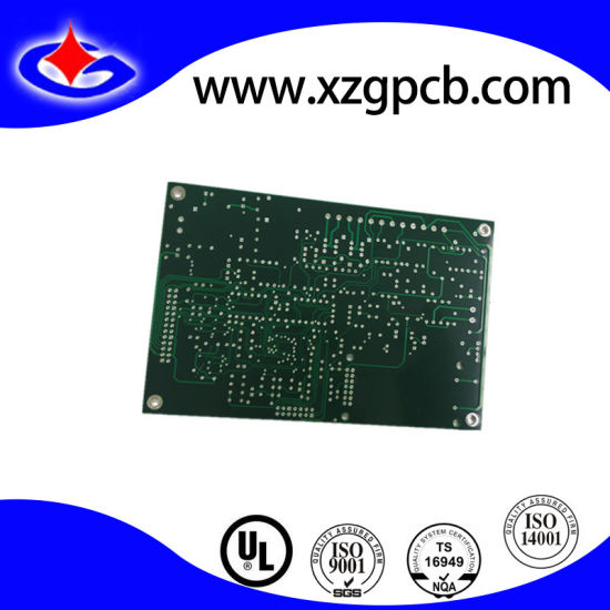 Double-Sided PCB Board with Dark Green Solder Mask
