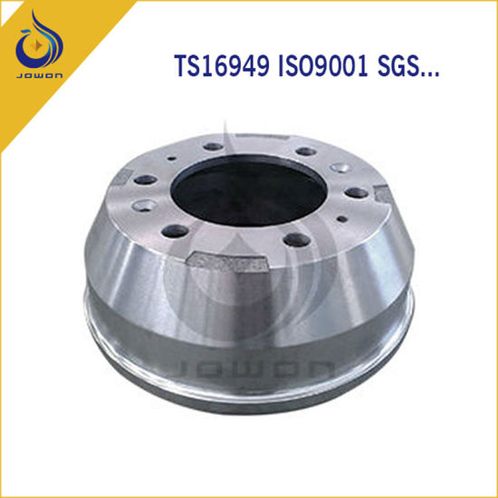 Iron Casting Brake Drum Truck Parts with Ts16949