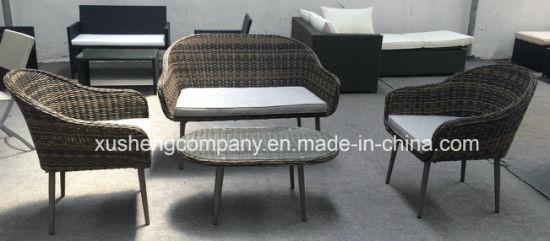 Garden Furniture Sofa Set Outdoor Furniture Rattan Lounge Sofa