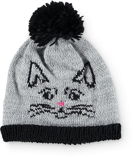 Fashion Girlish Acrylic Warm Winter Knitted Cat Beanie Hat pictures & photos
