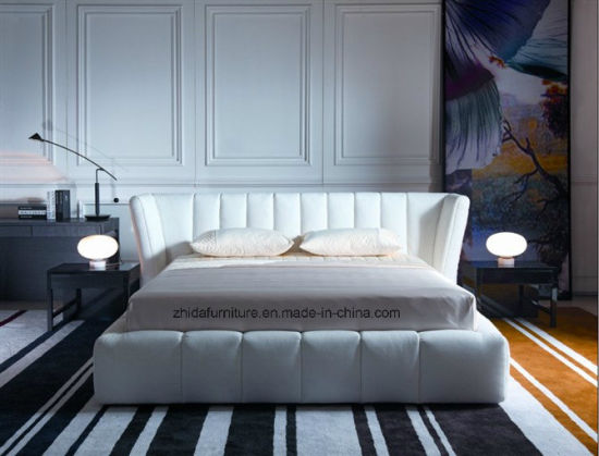 Hot Sale Furniture Modern Fashion Living Room Furniture/Fabric Bed/Leisure Bed