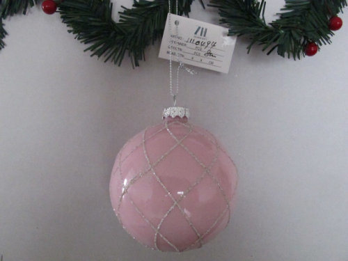 Shiny Glass Ball Ornaments for Decoration