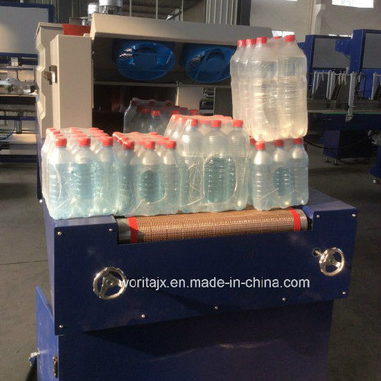 Automatic Bottle PE Film Shrink Wrapping Packing Machine (WD-150A) pictures & photos