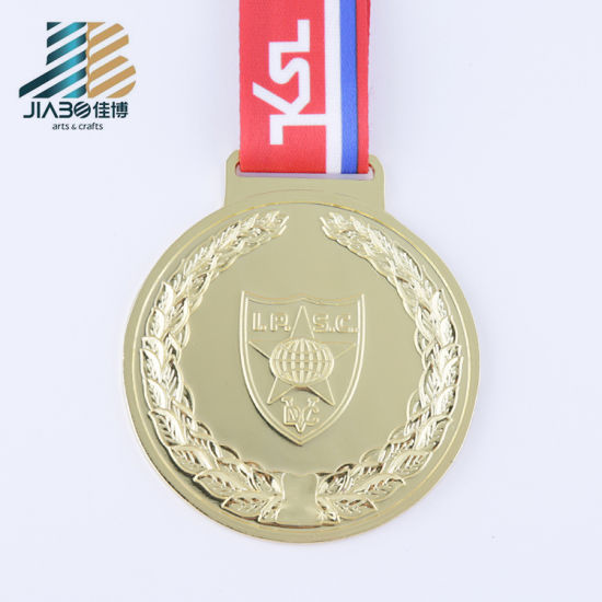rjknqyfovrct zinc stick alloy gold ancient and hiking custom product trophy football china medallion medal