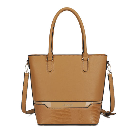 Factory-OEM-Wholesale Fashion Ladies Handbag 2020 PU Leather Large Capacity Women Tote Bags Lady Handbags