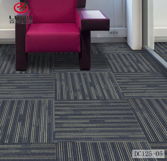 Hot Sale Tufted Loop Pile Commercial Living Room Hotel Office Conference  Convention Center Carpet Squares Carpet Tiles