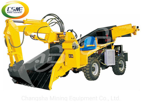 Electric Power Wheel Mucking Loader pictures & photos
