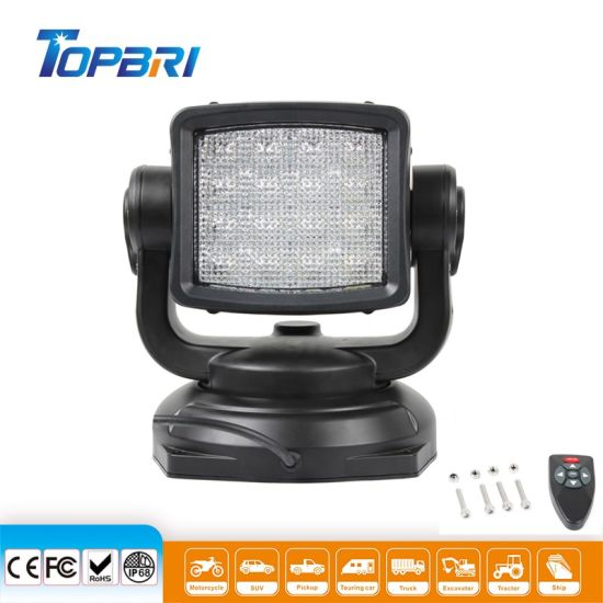 Auto Lamps Wholesale 12 24 Volt Torch LED Working Head Work Lamp for Tractor Truck Car