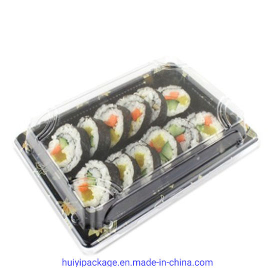 Take Away Plastic Food Container Package Sushi Box