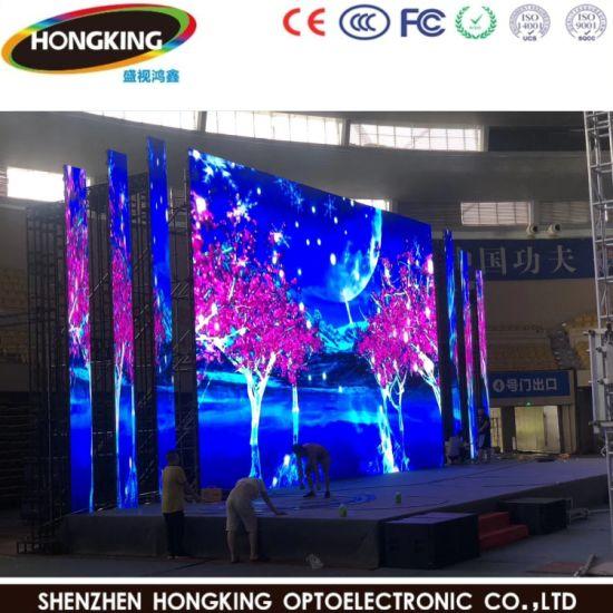 P3.91 P4.81 Outdoor Waterproof Advertising Background Video Wall Rental LED Display Screen