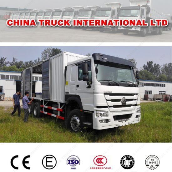 Multi-Function Sinotruk HOWO 6X4 20 Ton Mobile Maintenance Vehicle pictures & photos