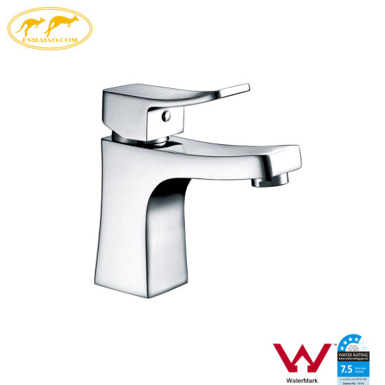 China Watemark Bathroom Fitting Brass Basin Washing Tap (HD4401)