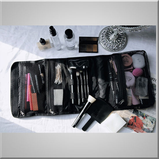 Fashion Promotion Portable Makeup Bag with PVC Pockets, Custom Unisex Toiletry Bag Cosmetic Bag Case pictures & photos